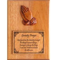 Placa decorativa din lemn - Serenity Prayer