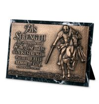Placa mica sculptata His strength