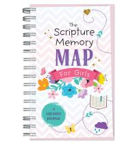 The Scripture Memory Map for Girls - Creative Journal