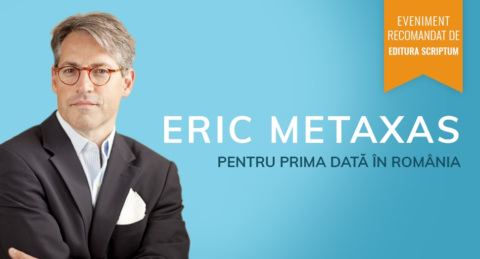 Eric Metaxas in Romania