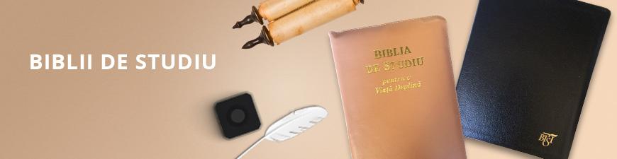 Alege-ti Biblia de studiu preferata...