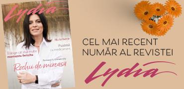 Cea mai recenta revista Lydia...
